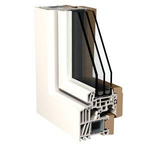 Infisso in PVC doppio vetro